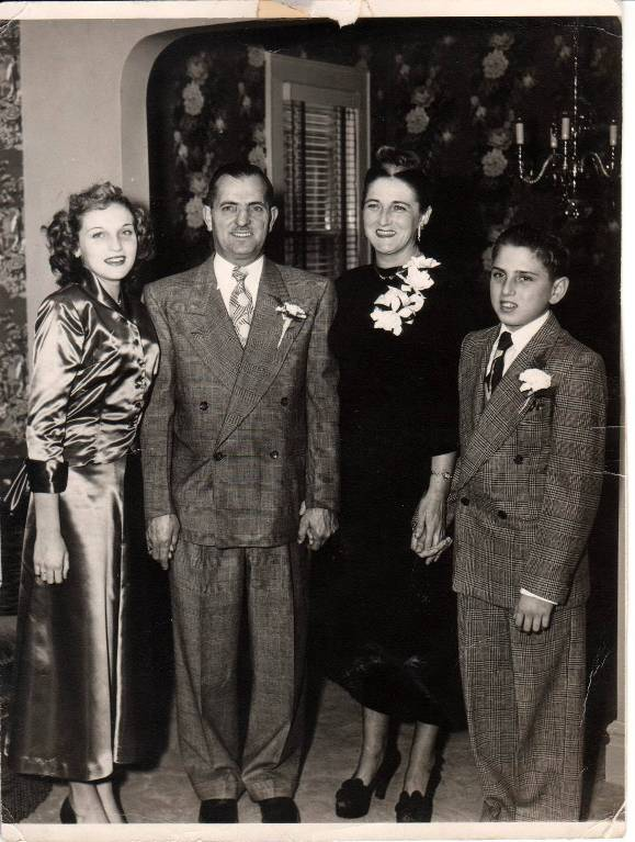 Jackie, Jack, Margaret, and Ronnie Bogner