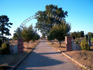 Entrance to Riverside Cemetery